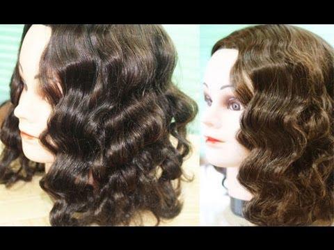 Foil Curls Method 2No Heat Amy Adams Inspired Waves