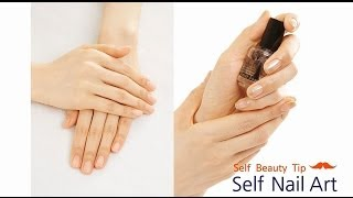 셀프 네일 팁 - DIY Nail Treatment Thumbnail