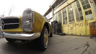 VLOG - 1965 Mercedes 230 SL Restorasyonu - Oto Safari