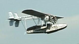 ラジコン水上機(シコルスキーS39 )の飛行   Sikorsky S-39