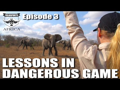Lessons in Dangerous Game - Fieldsports Africa, episode 3