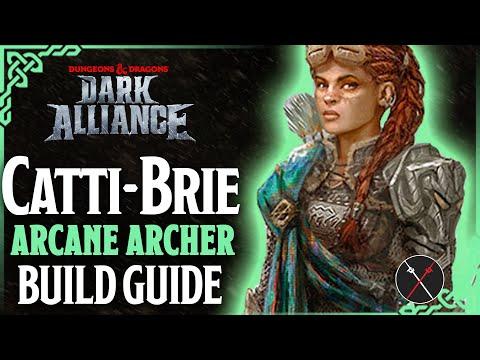 Catti-Brie (Arcane Archer) Build: Dungeons & Dragons Dark Alliance Guide