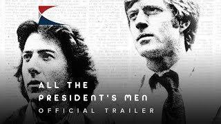 1976 All The Presidents Men Official Trailer  1 Warner Bros Pictures