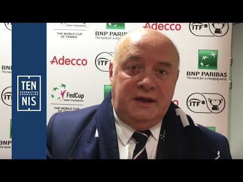 Fed Cup #FRABEL : interview Bernard Giudicelli