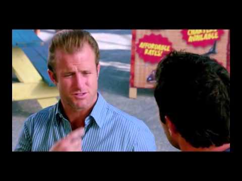 hawaii five o tom brady vs. peyton manning argument