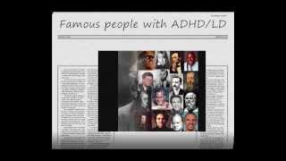 Famous people with ADHD/LD