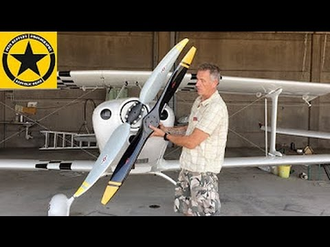 Airplane Movies: Fk12 - Comet Propeller Change (Sensenich / GT-Propellers)