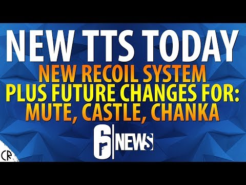 Recoil Changes & Future Reworks to Mute, Castle & Chanka - 6News - Tom Clancy's Rainbow Six Siege