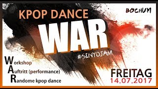 2017 KPOP DANCE WAR ! RANDOM DANCE PARTY IN BOCHUM 케이팝랜덤댄스파티 (In germany)