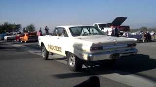 THE ROCKET AFX Comet at Bobs Big Boy Pin-up Girl Car Show Norco CA. 7/27/13
