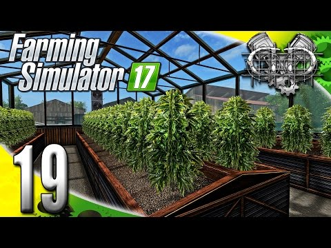 Farming Simulator 2017 Gameplay :EP19: Hemp Greenhouse! (PC HD GIANTS Island)