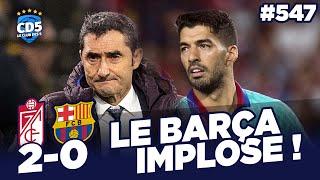 Grenade vs Barcelone (2-0) / AC Milan vs Inter (0-2) - Débrief / Replay #547 - #CD5