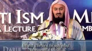Shiekh Mufthi Ismail Menk   DEATH - Your time is up!  Part 01