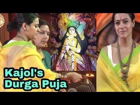 Kajol's Navratri Durga Puja 2018   Bollywood's Navratri Celebration 2018
