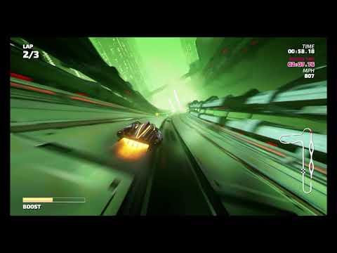 Fast RMX (Remix Update) - Time Attack Mode - Chuoku Habitat (Supersonic) - 1:52.94