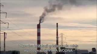 elektrociepłownia siekierki odsiarczanie czarny dym lato 2015