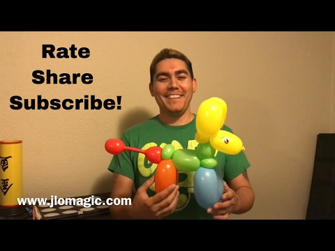 Piñata balloon - tutorial