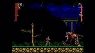 Castlevania (Fangame Lanforse Demo 2) Part 03 Hard mode