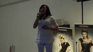 Irene Martin performs Jessica Simpson