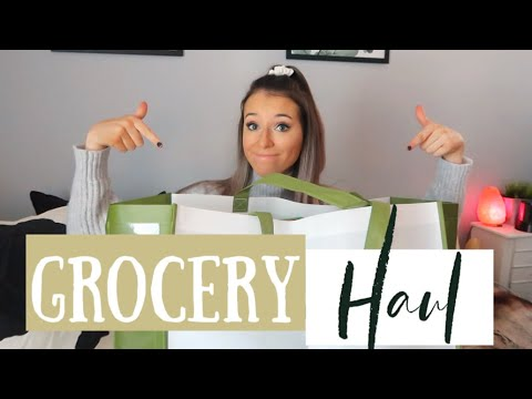 HEALTHY TRADER JOE'S GROCERY HAUL! (Dairy & Gluten Free)