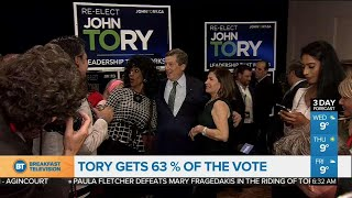 John Tory elected to a second term as mayor of Toronto