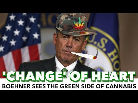 What!? Conservative John Boehner Joins Cannabis Company