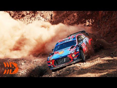 "Loeb ""Completely Destroying Tires"" - WRC Rally Turkey"