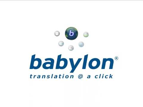 Babylon Translation Software - Read the Full Review
