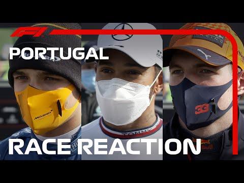 Drivers' Post-Race Reaction   2021 Portuguese Grand Prix
