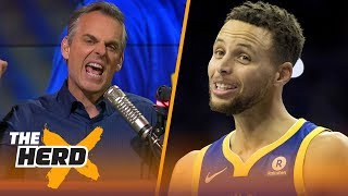 Colin Cowherd's 3 reasons why NBA players hate Golden State's Stephen Curry | NBA | THE HERD