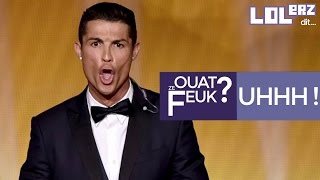 "Le Cri De Cristiano Ronaldo Au Ballon D'or ""let's The Dogs Out"" !"
