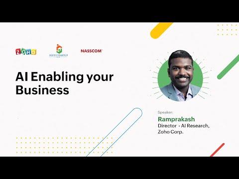 AI Enabling your Business: Ramprakash Ramamoorthy