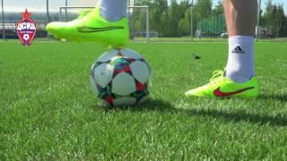 Урок №1 - Видео уроки по футбольным упражнениям от Евгения Алдонина