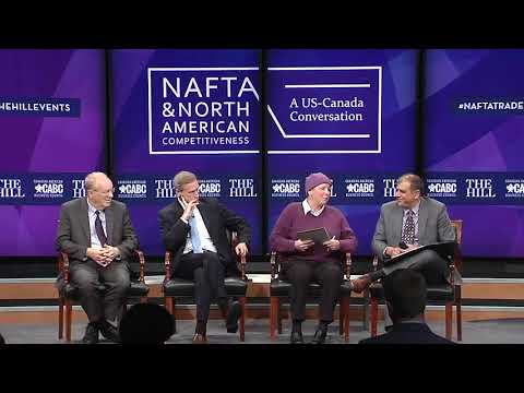 NAFTA and North American Trade Competitiveness // Panel: The Investment Climate