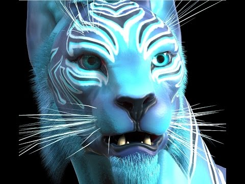 Sculpting a 3D Feline creature | Zbrush Sculptris (Part 1)