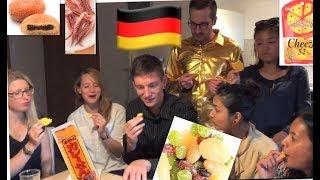 ドイツに住む外国人が日本のお菓子をたべてみたforeigners try Japanese candy