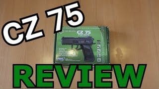 CZ 75 P07 Softair Review (GsP Airsoft) GERMAN