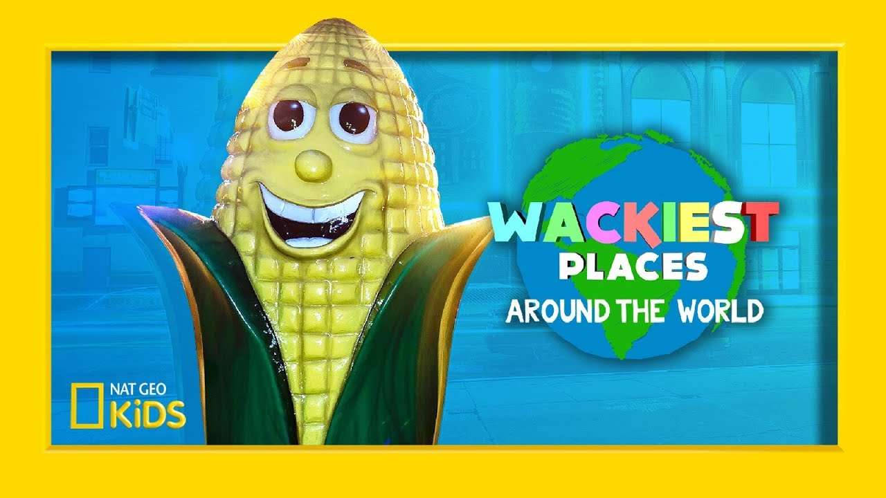 Crazy Corn Palace! | Wackiest Places Around the World