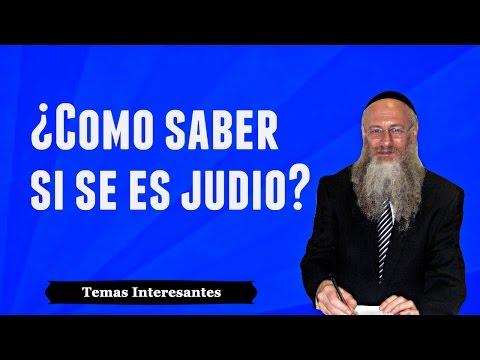 ¿Cómo Saber Si Se Es Judío?