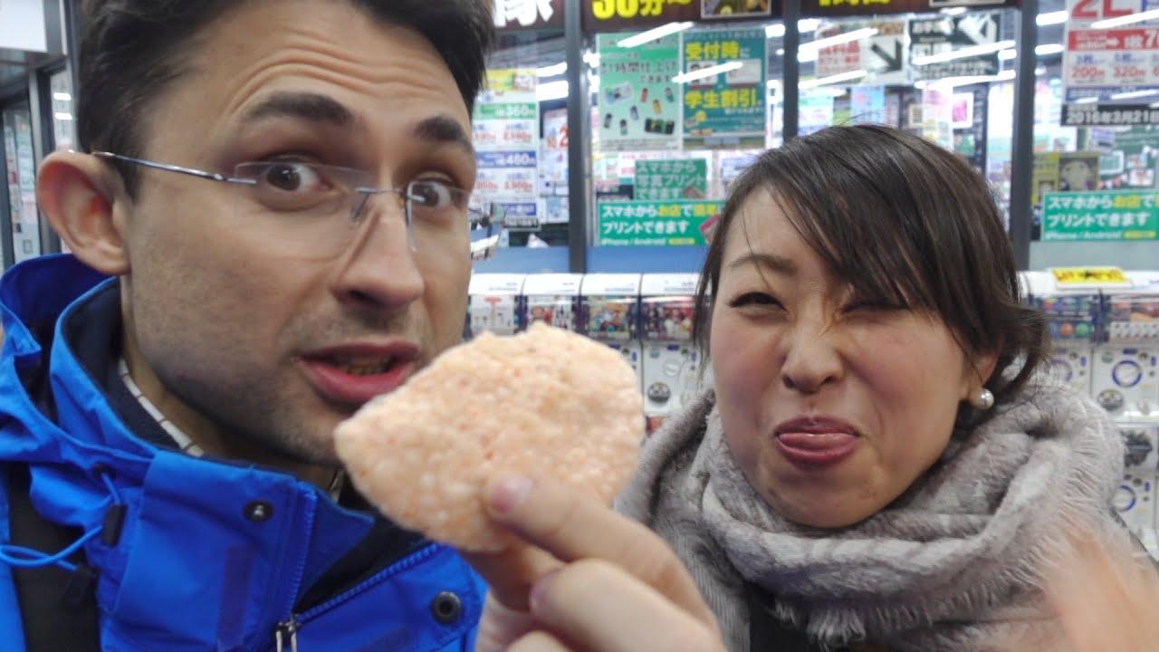 Kyoto'da Japon atıştırmalıklarını tadıyoruz - VLOG 5