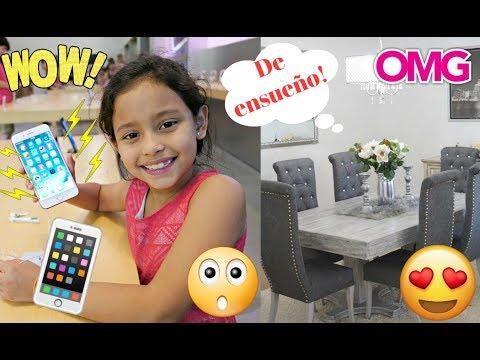Un iPHONE 8 PLUS para mi HIJA de 7 AÑOS??!! + TERMINAMOS NUESTRO COMEDOR! VLOG #86