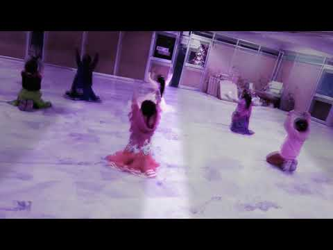 Ghoomar dance by kids (evening classes DC Montessori school Manimajra Chandigarh)