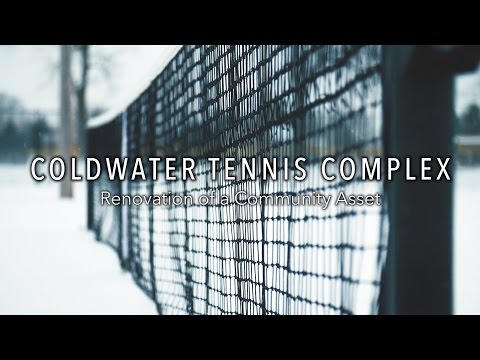 Coldwater Tennis Complex | Renovation of a Community Asset | MEDC