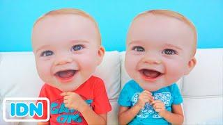 Vlad dan Niki -Little bayi masker cerita