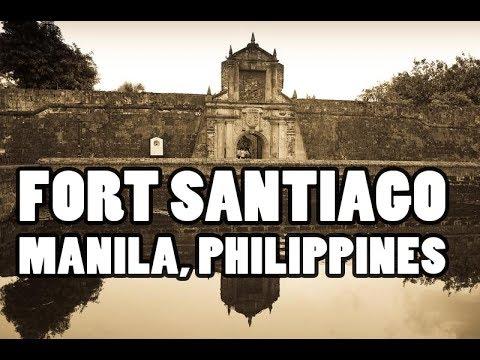 फिलीपींस में यहाँ जरूर जाये ! FORT SANTIAGO MANILA, PHILIPPINES (JOSE REZAL)