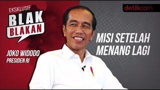 Blak blakan Jokowi: Misi Setelah Menang Lagi