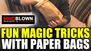 Magic Tricks with Paper Bags