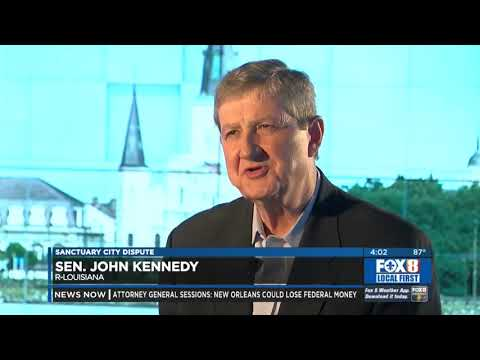 Sen. John Kennedy-New Orleans Immigration