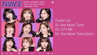 트와이스 (TWICE) - ONE MORE TIME [SINGLE ALBUM)