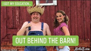 """I Got My Education Out Behind The Barn"" - Mollie B, Ted Lange, Dana Lindblad (Home Session #53)"